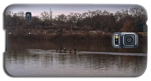 Crew On The Schuylkill - 1 Galaxy S5 Case