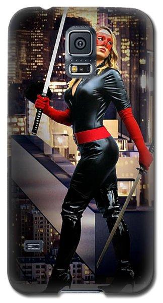 Crimson Avenger The Penthouse Watch Galaxy S5 Case