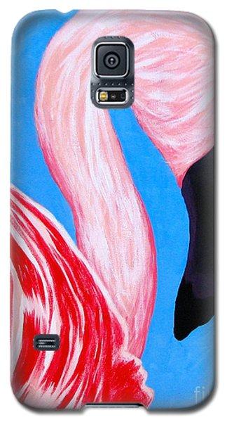 Crimson Flamingo Galaxy S5 Case