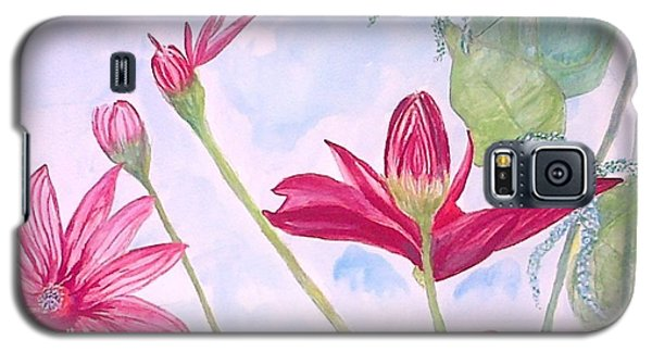Crimson Garden Galaxy S5 Case
