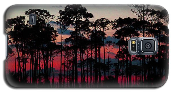 Crimson In The Pines Galaxy S5 Case