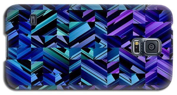 Criss Cross Blues Galaxy S5 Case