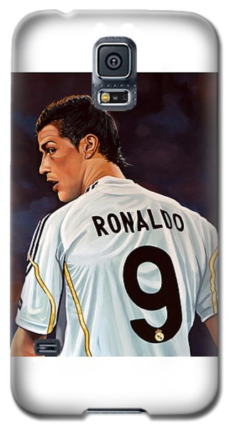Cristiano Ronaldo Galaxy S5 Case by Paul Meijering