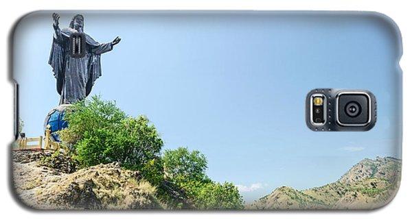 Cristo Rei Statue Near Dili East Timor Timor Leste Galaxy S5 Case