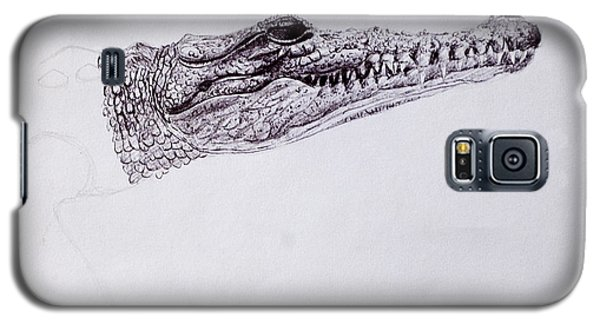 Croc Sketch Galaxy S5 Case