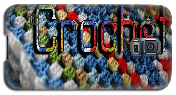 Crochet Galaxy S5 Case by Megan Dirsa-DuBois