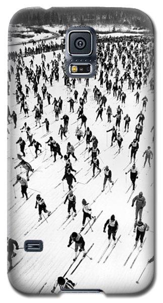 Cross Country Ski Race Galaxy S5 Case