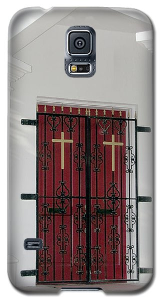 Key West Church Doors Galaxy S5 Case