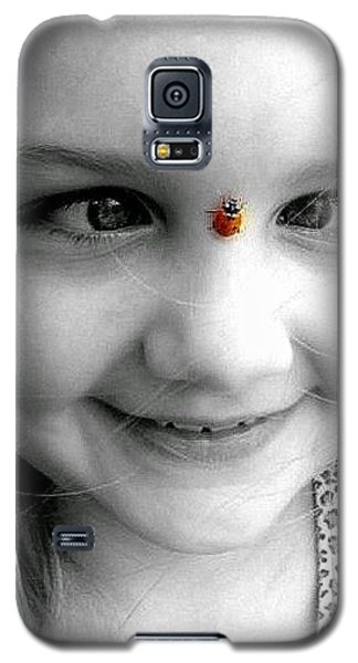 Galaxy S5 Case featuring the photograph Cross-eyed For Ladybugs by Faith Williams