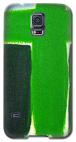 Green Cross On Hill Galaxy S5 Case