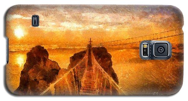 Cross That Bridge Galaxy S5 Case by Catherine Lott