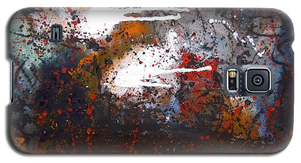 Galaxy S5 Case featuring the painting Cross The Time by Min Zou