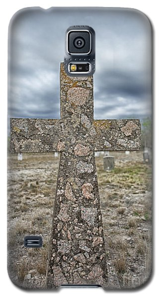 Cross With No Name Galaxy S5 Case by Erika Weber