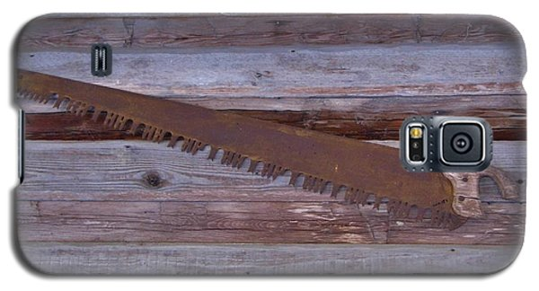 Crosscut Saw Galaxy S5 Case by D Hackett