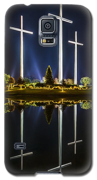 Crosses In Reflection Galaxy S5 Case
