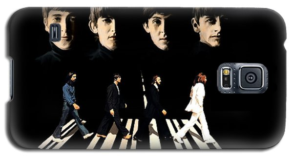 Crossing Into History The Beatles  Galaxy S5 Case