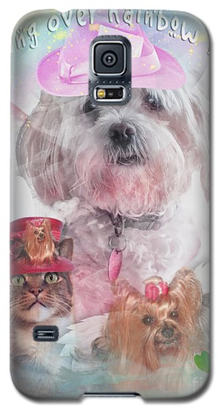 Crossing Over Rainbow Bridge Galaxy S5 Case by Kathy Tarochione