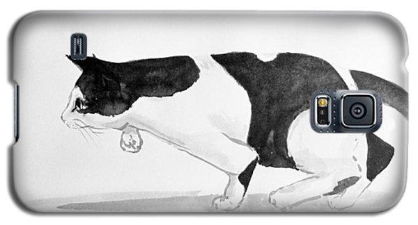Crouching Cat Galaxy S5 Case