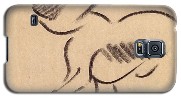 Crouching Monkey Galaxy S5 Case by Henri Gaudier-Brzeska
