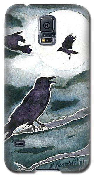 Crow Moon Galaxy S5 Case