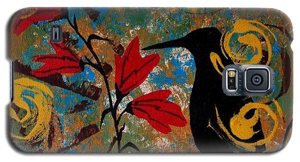 Crow Healing In The Ancient Garden Galaxy S5 Case
