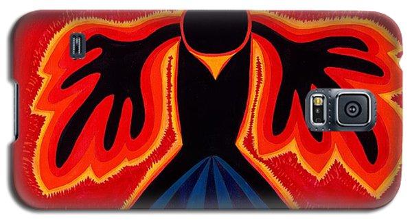 Crow Rising Original Painting Galaxy S5 Case