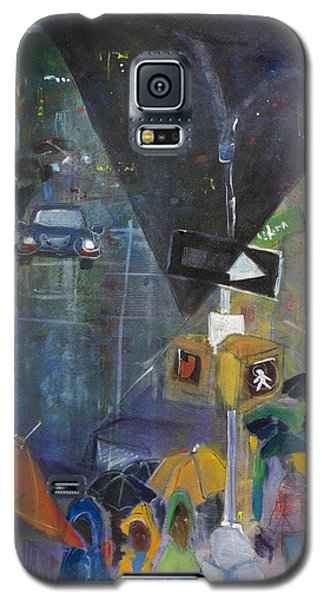 Crowded Intersection Galaxy S5 Case by Leela Payne