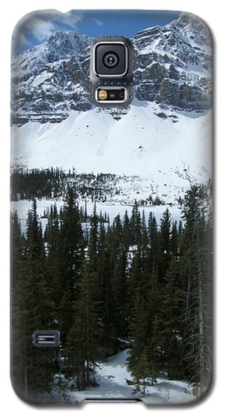 Crowfoot Mountain - Canada Galaxy S5 Case by Phil Banks