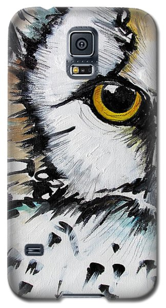 Galaxy S5 Case featuring the painting Crown by Nicole Gaitan