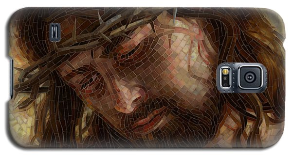 Crown Of Thorns Glass Mosaic Galaxy S5 Case