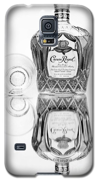 Crown Royal Black And White Galaxy S5 Case