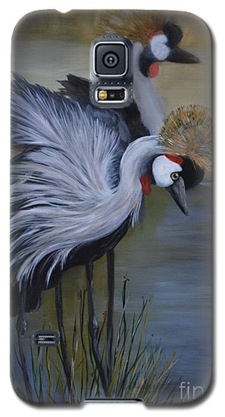Crowned Cranes Galaxy S5 Case