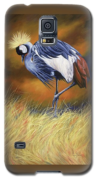 Crane Galaxy S5 Case - Crowned by Lucie Bilodeau