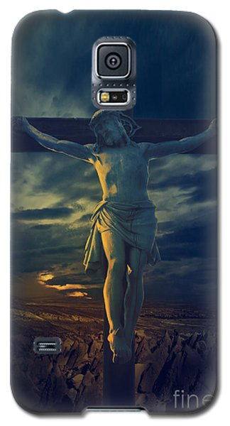 Crucifixcion Galaxy S5 Case