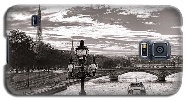 Cruise On The Seine Galaxy S5 Case