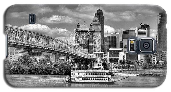 Cruising By Cincinnati 3 Bw Galaxy S5 Case