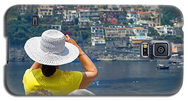 Galaxy S5 Case featuring the photograph Cruising The Amalfi Coast by Keith Armstrong