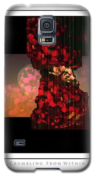 Crumbling Galaxy S5 Case