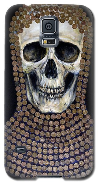 Galaxy S5 Case featuring the painting Crusader by Arturas Slapsys