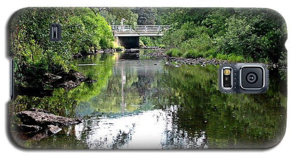 Galaxy S5 Case featuring the photograph Cryder Creek Bridge by Christian Mattison