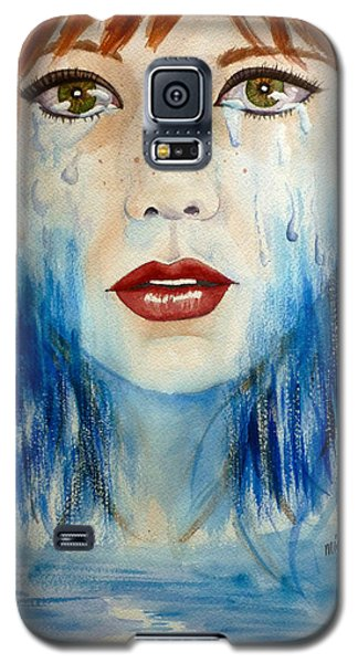 Crying A River Galaxy S5 Case