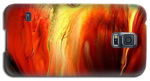 Crying For Love Modern Abstract Art By Kredart Galaxy S5 Case