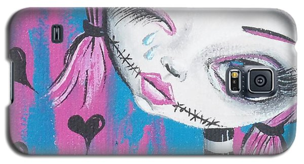 Crying Zombie Galaxy S5 Case by Oddball Art Co by Lizzy Love