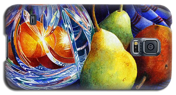 Crystal And Pears Galaxy S5 Case by Roger Rockefeller