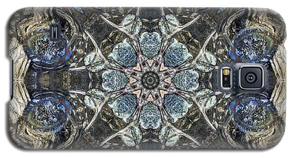Galaxy S5 Case featuring the digital art Crystal Anxiety by Rhonda Strickland