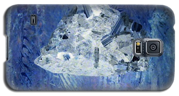 Galaxy S5 Case featuring the mixed media Crystal Clear by Nancy Kane Chapman