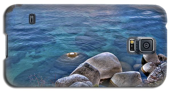 Crystal Clear Sand Harbor Galaxy S5 Case by William Havle