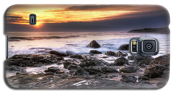 Crystal Cove State Park Galaxy S5 Case by Eddie Yerkish