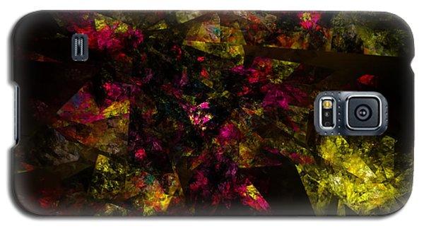 Galaxy S5 Case featuring the digital art Crystal Inspiration #1 by Olga Hamilton