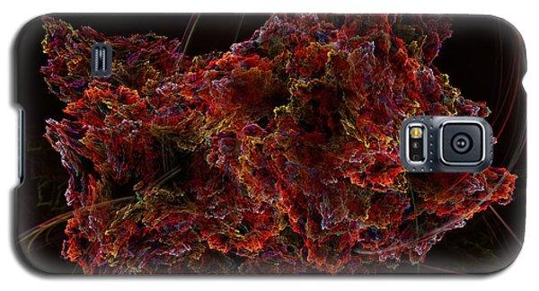 Galaxy S5 Case featuring the digital art Crystal Inspiration #2 by Olga Hamilton